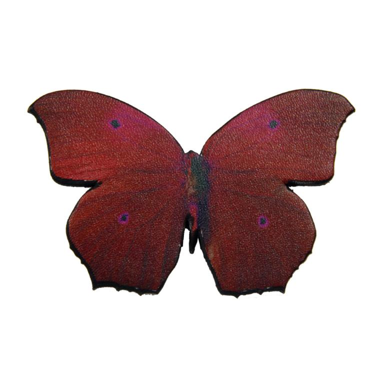 Butterfly brooch 'Red'