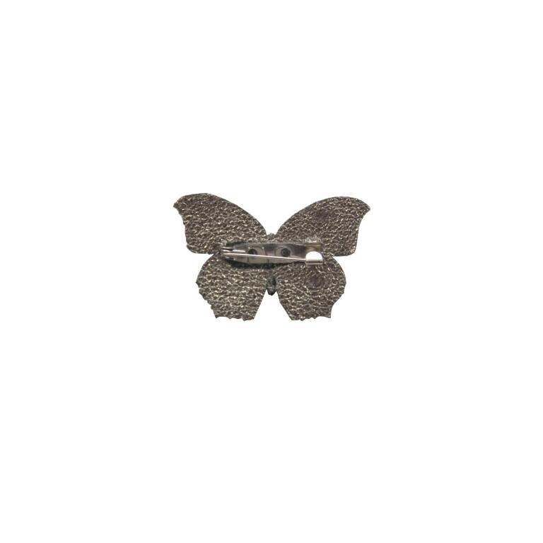 Small butterfly brooch  'Naranja'