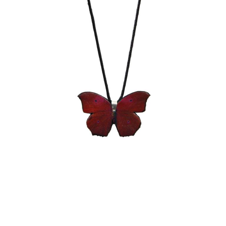 Greenish blue butterfly 'Red'