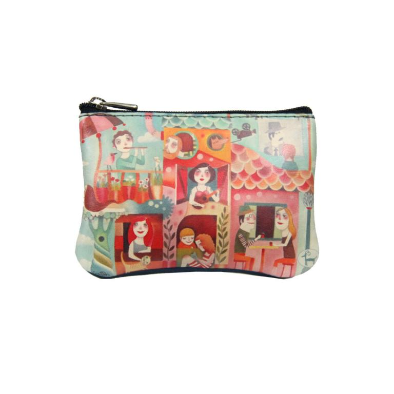 Purse with Two Zips 'Teatro'