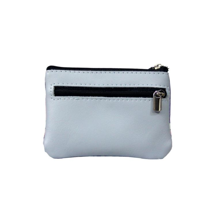 Purse with Two Zips 'Noches de azul'