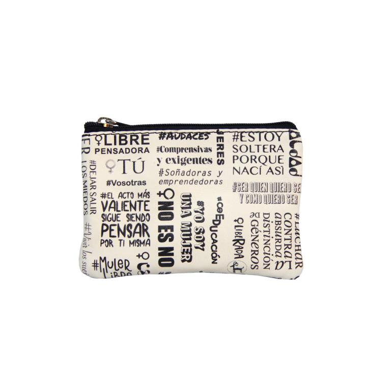 Purse with Two Zips 'Mujeres'