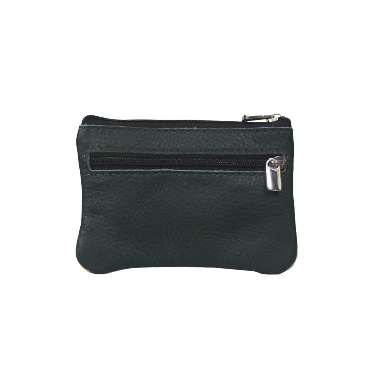 Purse with Two Zips 'Polas teclas do piano'